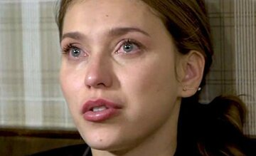 Регина Тодоренко плачет