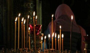 свечи, молитва