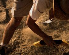 археолог, раскопки