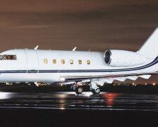 самолет-Bombardier Challenger 600