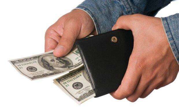 курс валют, доллар, кошелек