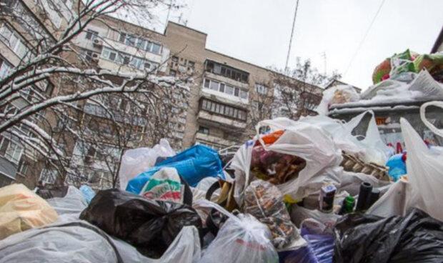 Центр Днепра утопает в мусоре, возле домов опасно ходить: пугающие кадры