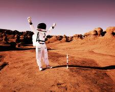 марс, астронавт