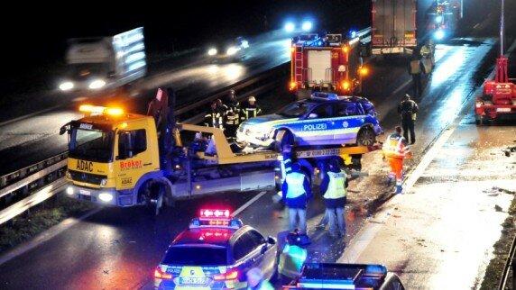 Наїзд української вантажівки на поліцейських у Німеччині: з'явилися подробиці НП
