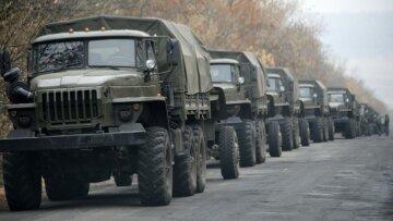 грузовики, ДНР, Россия