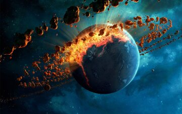 нибиру, конец света, космос, вселенная