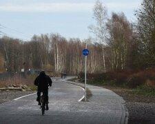 велосипед трасса шоссе