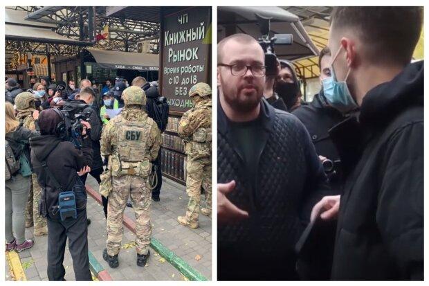 На одесский рынок ворвались силовики, территория окружена: что произошло