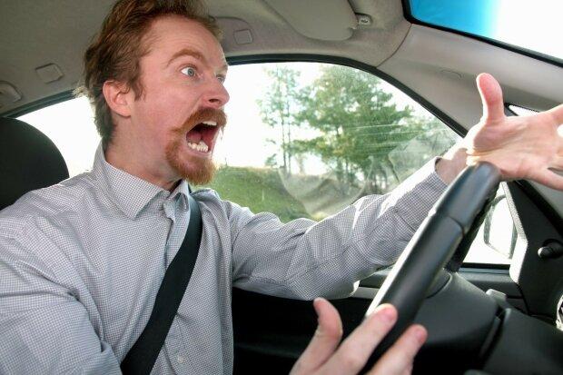 водитель, агрессия