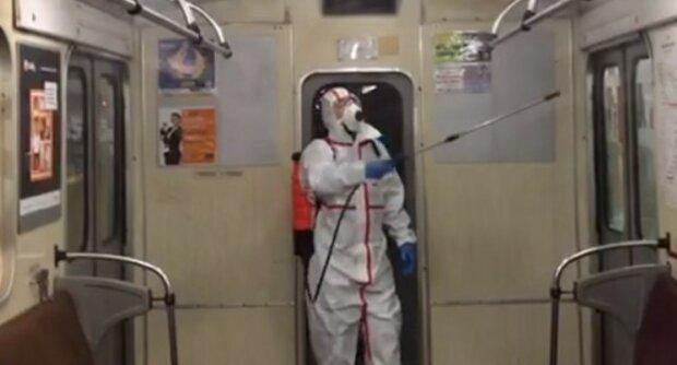 метро в Киеве, эпидемия (скрин)