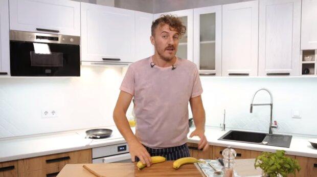 """Переможець """"Майстер Шеф"""" Клопотенко розповів, як правильно смажити банани: """"Це бомба"""""""