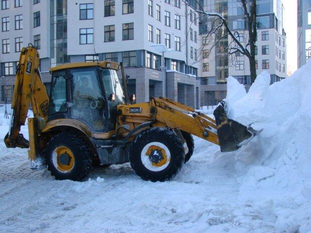 уборка расчистка снега