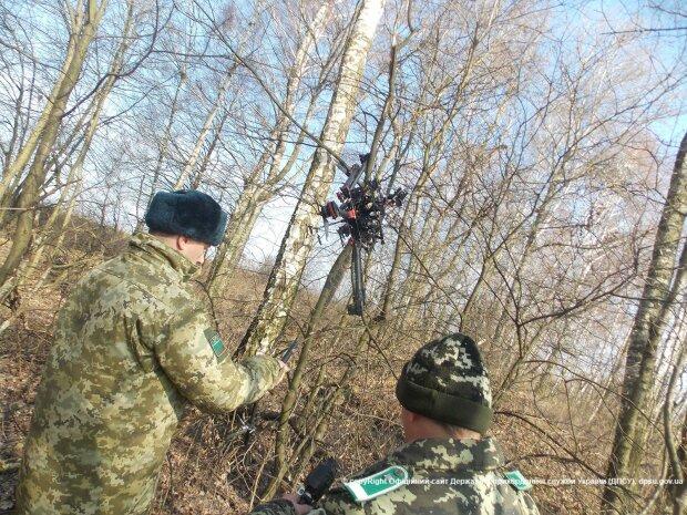 Над украинско-польской границей летают беспилотники контрабандистов (фото)