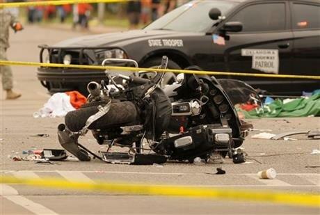авария в Оклахоме на параде