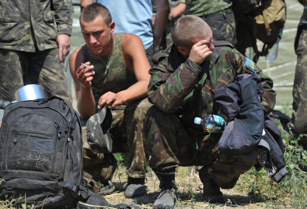 пленные Донбасса, плен