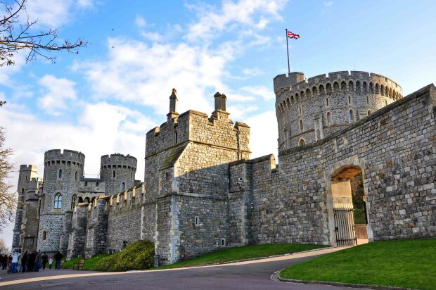 Виндзорский замок, Великобритания, резиденция Елизаветы
