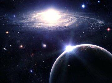 космос, галактика, сигналы