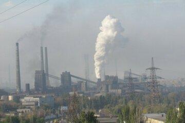 промышленность, экология, выбросы