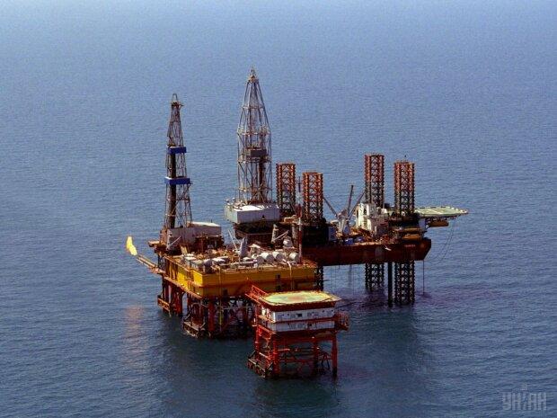 буровая вышка газ нефть добыча