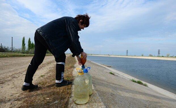 Крим, вода в Крим, анексований Крим