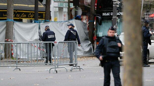 Париж теракты полиция