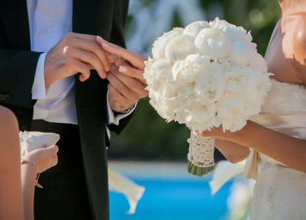 свадьба молодожены невеста
