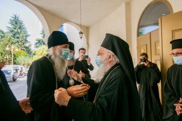 Делегация УПЦ встретилась в Тиране с Предстоятелем Албанской Православной Церкви
