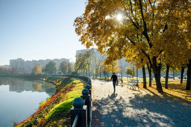 осень, Харьков, погода