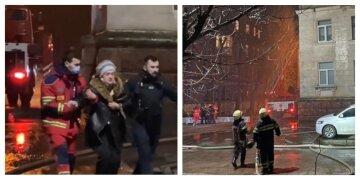 Люди оказались в ловушке: в Харькове вспыхнул сильный пожар в пятиэтажке, кадры ЧП
