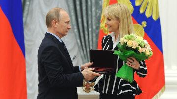 Путин и Валерия