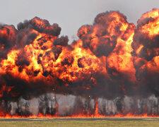 огонь, взрыв