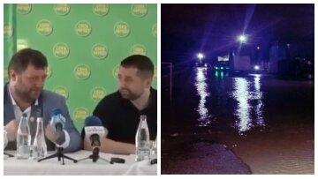 Наводнение в Украине и подготовка к эвакуации, позор «Слуг народа» и новое дно курса доллара – главное за ночь