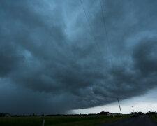 Тучи, шторм, торнадо, погода