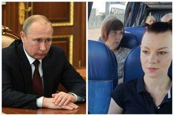 Обнуление Путина стартовало: украинцев вывозят на голосование автобусами, фотодоказательства