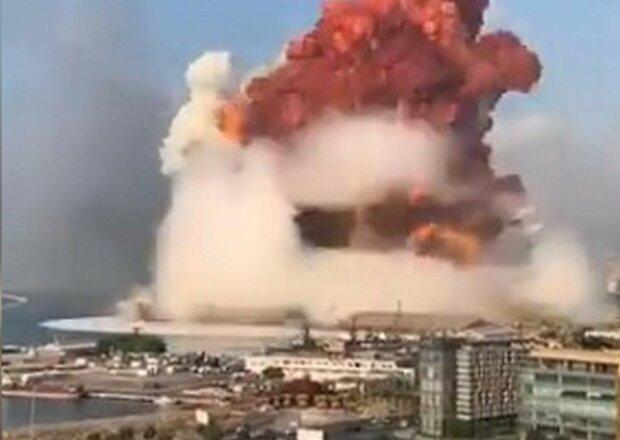 взрыв, Бейрут