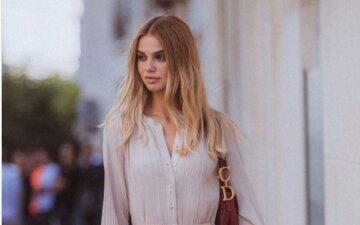 """Дружина """"Холостяка"""" Михайлюка без косметики показала, якою красунею була до вагітності: """"Ні макіяжу, ні стиліста…"""""""