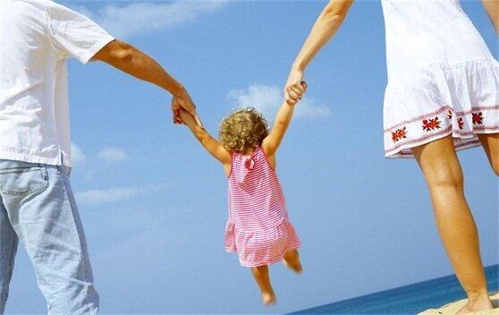 ребенок дети отдых семья лето море