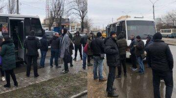 В Одесі збунтувалися маршрутники через карантин, дійшло до звільнення: кадри протесту