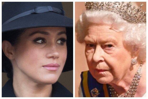меган маркл, королева єлизавета