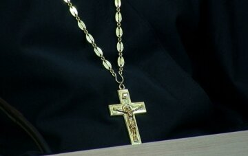 поп, священник, крест