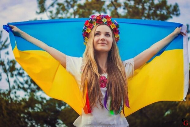 украинка,