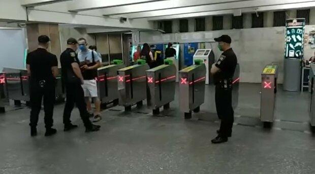 полиция, метро, Харьков