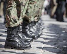парад, военные, берцы