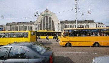 Киев, транспорт, маршрутка