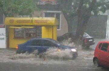 дождь, авто, погода, природа