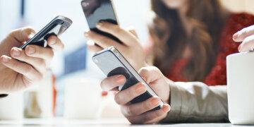 смартфон телефон мобилка женщина