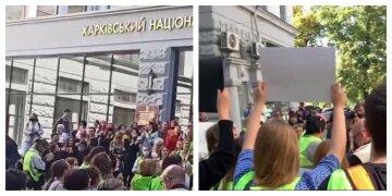 """Сотні людей збунтувалися в Харкові, кадри: """"можуть залишитися без роботи"""""""
