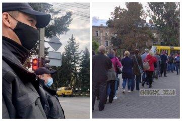"""Гигантские очереди выстроились в Одессе, терпение маршрутчиков лопнуло: """"вынуждены поставить по гаражам"""""""