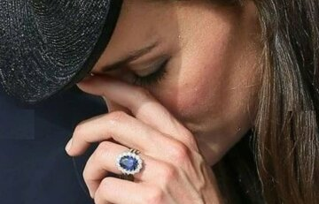 кейт миддлтон, кольцо дианы