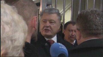 Униженный Порошенко на допросе закатил некрасивую сцену: «Вы не украинцы!», кадры